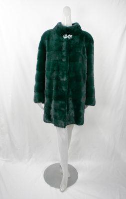 Green Horizontal Mink Stroller