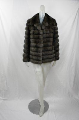 Horizontal Russian Sable Jacket