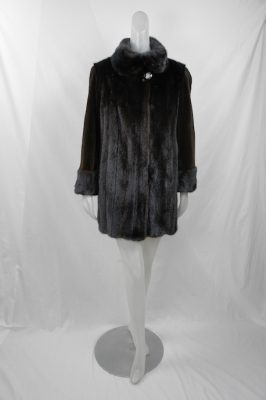 Restyle Long Hair Mink w Sheared Sleeves
